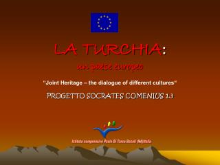 LA TURCHIA : un paese europeo
