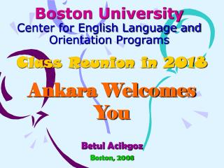 Boston University Center for English Language and Orientation Programs