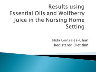 Nida Gonzales-Chan Registered Dietitian