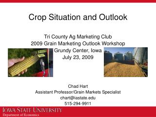 Crop Situation and Outlook