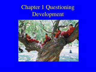 Chapter 1 Questioning Development