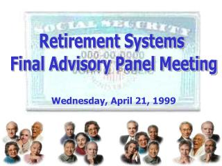 Retirement Systems  Final Advisory Panel Meeting