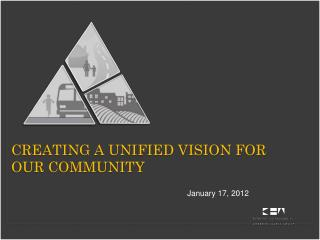 Creating a unified vision for our community