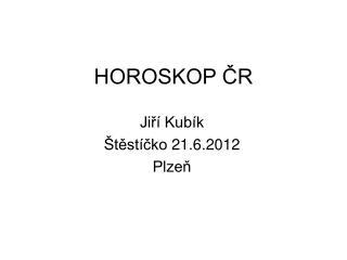 HOROSKOP ČR