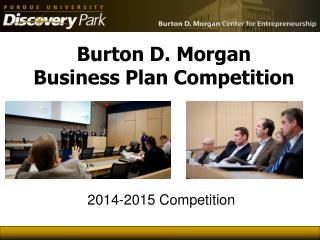 Burton D. Morgan  Business Plan Competition