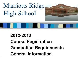 Marriotts Ridge High School