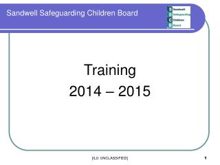 Sandwell Safeguarding Children Board