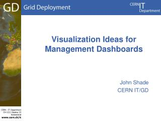 Visualization Ideas for Management Dashboards