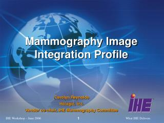 Mammography Image Integration Profile
