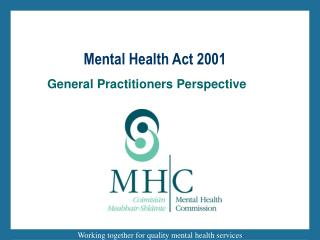 Mental Health Act 2001