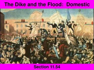The Dike and the Flood:  Domestic