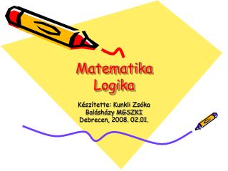Matematika Logika