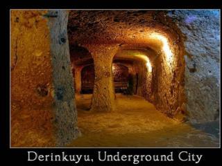Unutrašnjost je nevjerojatna:    podzemni  prolazi u Derinkuyu
