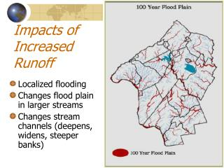 Impacts of Increased Runoff