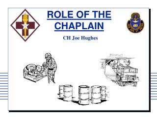 ROLE OF THE CHAPLAIN