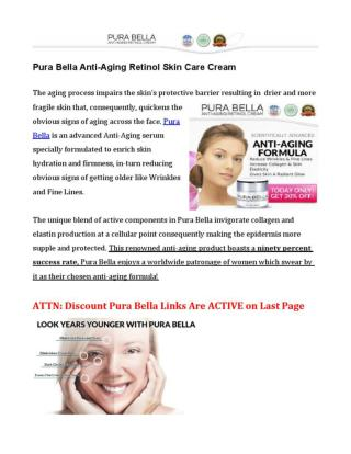 Pura Bella Takes the Question Out of the Anti-Aging Pursuit