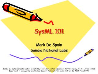 SysML 101