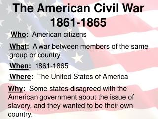 Who :   American citizens