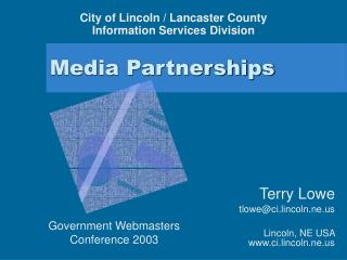 Media Partnerships
