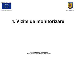 4.  Vizite de  monitorizare