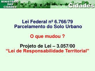 Lei Federal n  6.766