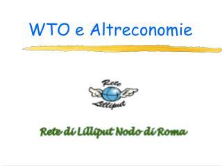 WTO e Altreconomie