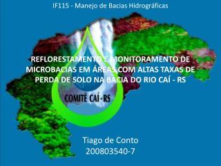Tiago de Conto 200803540-7
