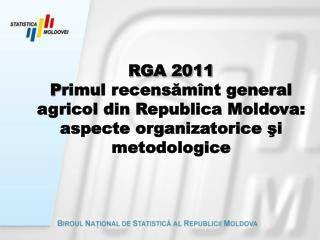Impactul socio – economic al RGA