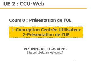 UE 2 : CCU-Web
