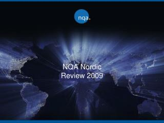 NQA Nordic Review 2009