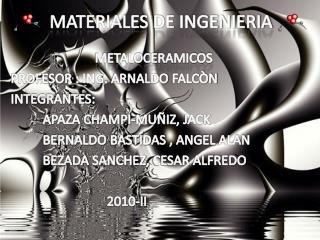 MATERIALES DE INGENIERIA