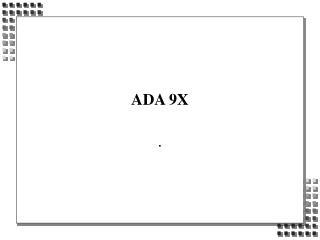 ADA 9X