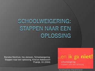 Schoolweigering: stappen naar een oplossing