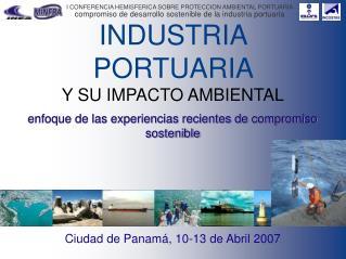 INDUSTRIA PORTUARIA Y SU IMPACTO AMBIENTAL