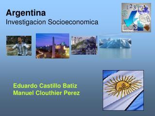 Argentina Investigacion Socioeconomica