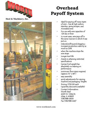 Overhead  Payoff System