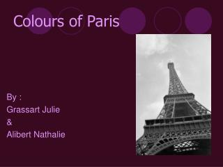Colours of Paris