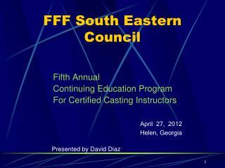 FFF South Eastern Council