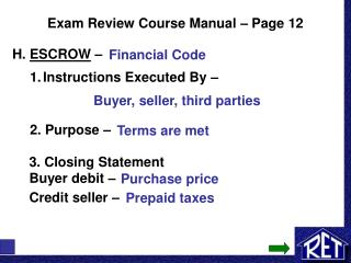Exam Review Course Manual – Page 12