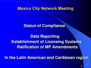 Mexico City Network Meeting