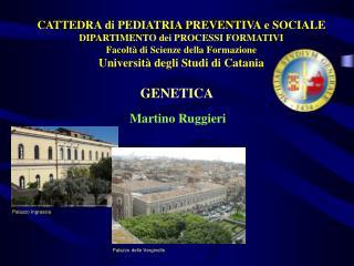 GENETICA Martino Ruggieri