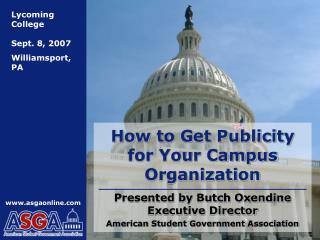 How to Get Publicity for Your Campus Organization
