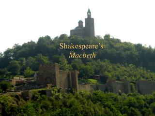 Shakespeare�s  Macbeth