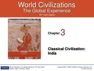 Classical Civilization:  India