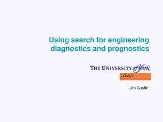 Using search for engineering diagnostics and prognostics