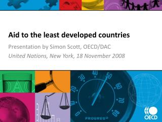 Aid to the least developed countries