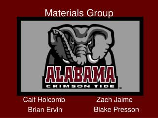Materials Group