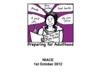 NIACE 1st October 2012