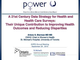 Health and Health Care Surveys Essential Data for Improving Health Outcomes