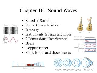 Chapter 16 - Sound Waves